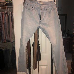 Men's Levi's bootcut jeans